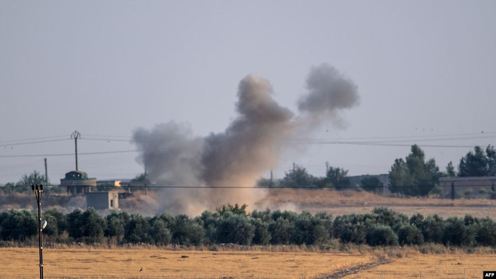 Turkish factions renew bombardment on Ain Issa in northern Syria