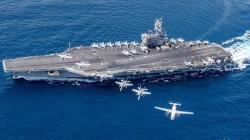 """""""البنتاغون"""" يتراجع: حاملة الطائرات """"نيميتز"""" ستبقى في الخليج"""