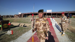 A military parade in Nineveh on the Iraqi Army Day