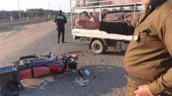 مصرع مدني وإصابة آخر بحادثي سير في ديالى