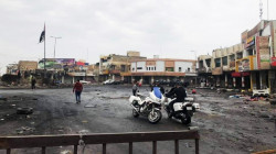 Clashes between protestors and security forces in Al-Haboubi square