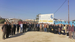 Contract employees in Diyala Electoral Office organize a strike