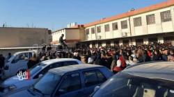 بالرغم من كورونا.. تكدس مئات المتقدمين على الامتحانات الخارجية في تربية نينوى