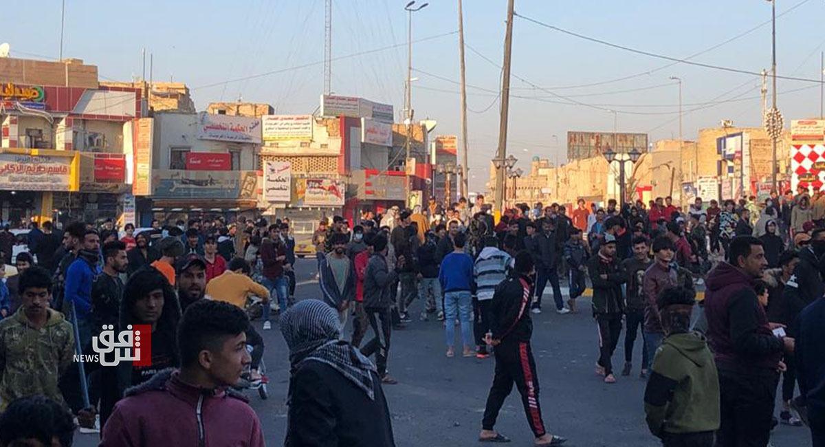 Demonstrators return to al-Haboubi Square