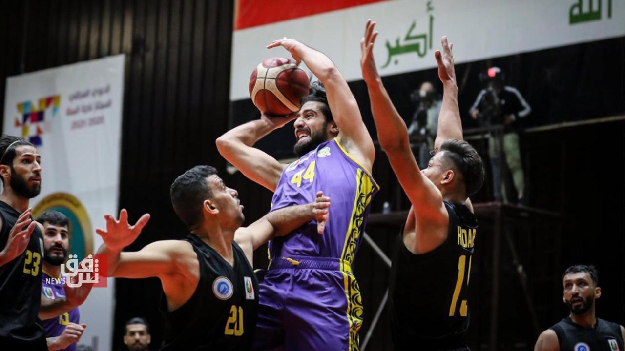 فوز التضامن ونفط الشمال في دوري السلة الممتاز
