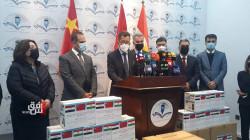 الصين تزود إقليم كوردستان بدفعة جديدة من المستلزمات الصحية لمكافحة كورونا