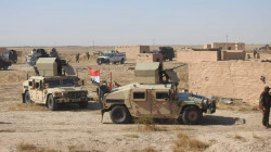A Commandos brigade withdraws from a disputed area between Erbil and Baghdad