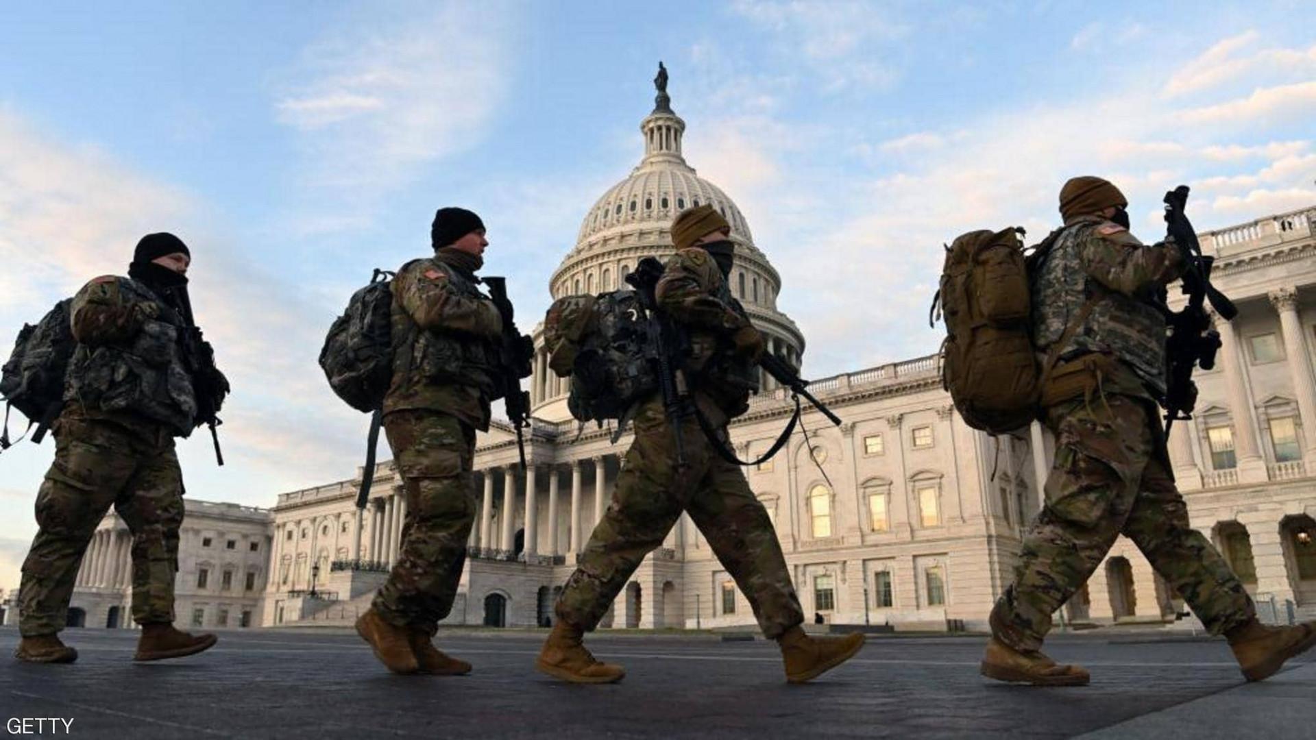 الشرطة الأمريكية تخلي مبنى الكونغرس