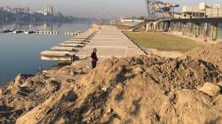"""مقبرة اثرية """"محتملة"""" توقف كري نهر دجلة في الاعظمية ببغداد"""