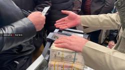 ارتفاع سعر الدولار مقابل الدينار في بغداد وكوردستان