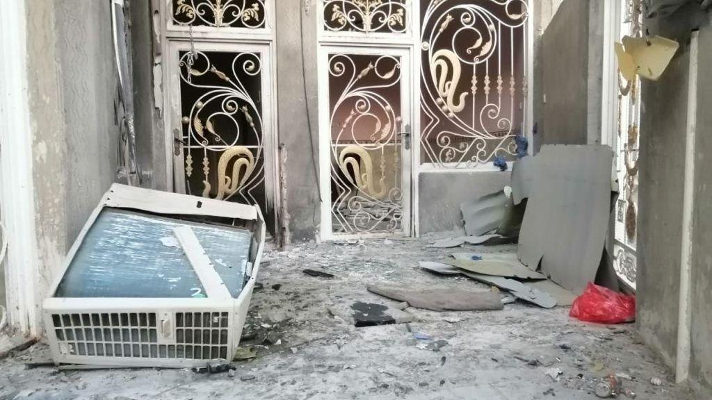 استهداف منزل الناشط هشام الشمري بعبوة ناسفة في الناصرية