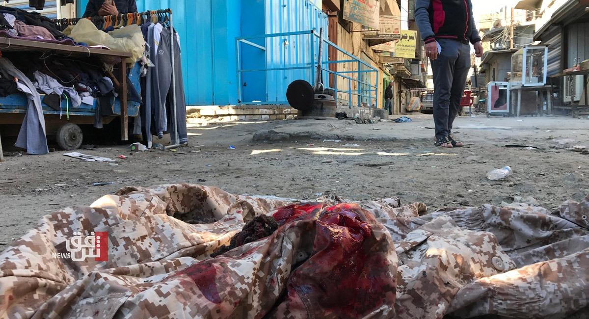 انفجارا بغداد يوقعان أكثر من 100 ضحية وجريح في حصيلة جديدة