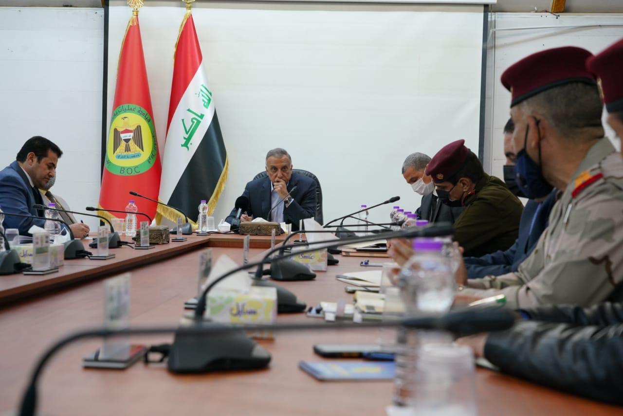 """الكاظمي يمنح قيادات بغداد الأمنية """"فرصة أخيرة"""" ويلوّح بالإقالات"""
