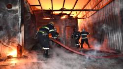 """الدفاع المدني يستنفر لإخماد حريق """"كبير"""" في بغداد"""