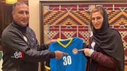 """الزوراء يتعاقد مع """"حارسة"""" المنتخب الايراني لتمثيل فريقه النسوي لكرة القدم"""