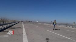 محافظة الانبار تفتتح جسرين على الطريق الدولي السريع