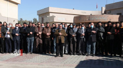 صور.. إقامة صلاة الغائب في جامعة الموصل على أرواح ضحايا تفجيري بغداد