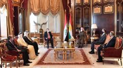 Head of KDP meets the Arab consuls in Kurdistan