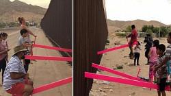 أرجوحة أطفال بين أمريكا والمكسيك تحصد جائزة أفضل تصميم لـ2020