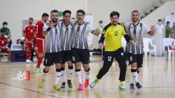 نفط الوسط العراقي يفوز على منتخب الإمارات ويتأهل لنهائي بطولة خورفكان للصالات