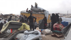 """العشرات من عائلات """"داعش"""" تغادر مخيم الهول باتجاه الأراضي العراقية"""