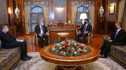 Barzani meets the Greek Consul General in Erbil