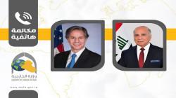 في أول اتصال.. بلينكن يبلغ العراق استمرار الحوار الاستراتيجي