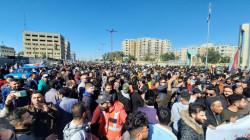 وسط تشديد أمني.. تظاهرات عارمة تجتاح وسط بغداد (صور)