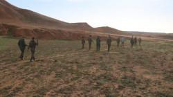 """الحشد الشعبي يطلق عملية أمنية في جبال """"نفط خانة"""" في ديالى"""
