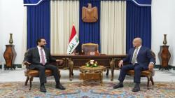 """""""الانتخابات المقبلة"""" على طاولة صالح والحلبوسي"""
