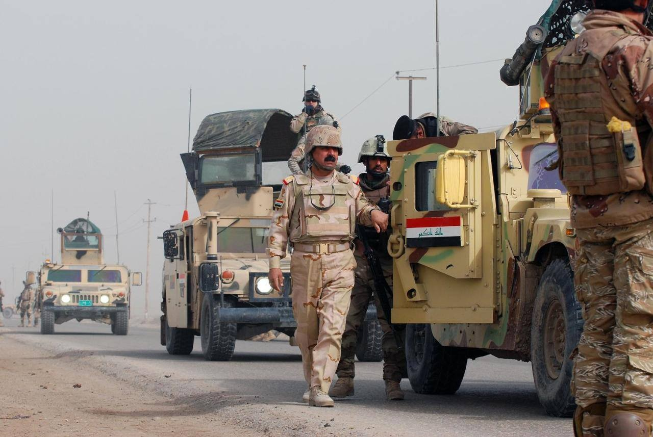 Two victims in a cluster bomb blast in Basra