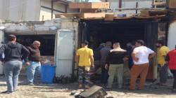انفجار ثان يستهدف متجرا لبيع المشروبات الكحولية في بغداد
