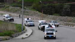 السلطات الأمنية تعلن إصابة امرأة بجروح بالقصف التركي لشمال السليمانية