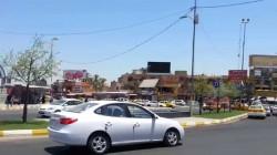 An explosive device dismantled in Jordan square in Baghdad
