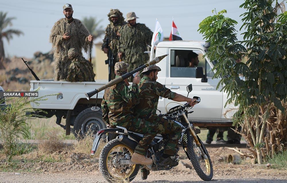 A PMF member shot dead in Saladin