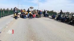 Dhi Qar demonstrators block Al-Nasr Bridge