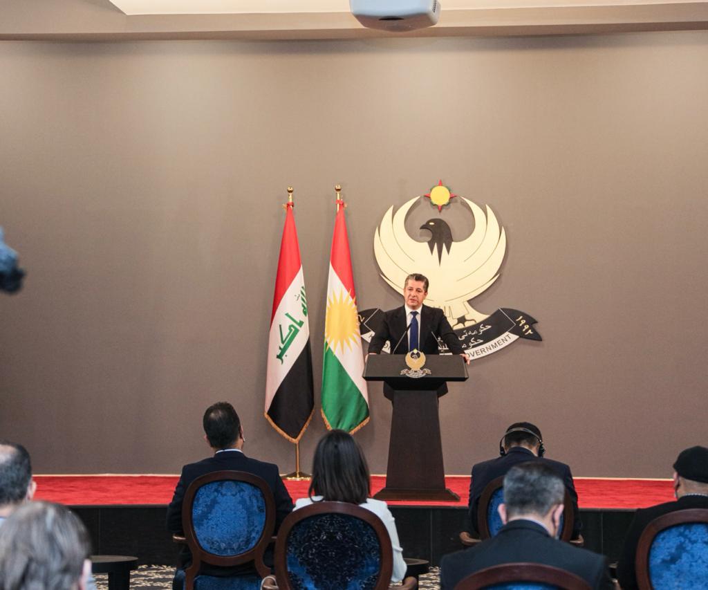 بارزاني: سنعتمد على ثلاثة أنواع من الواردات إذا امتنعت بغداد عن إرسال حصة الإقليم