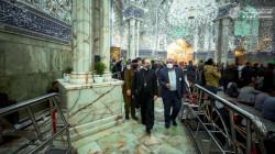 The Vatican delegation visits the Imam Ali bin Abi Talib shrine in Najaf