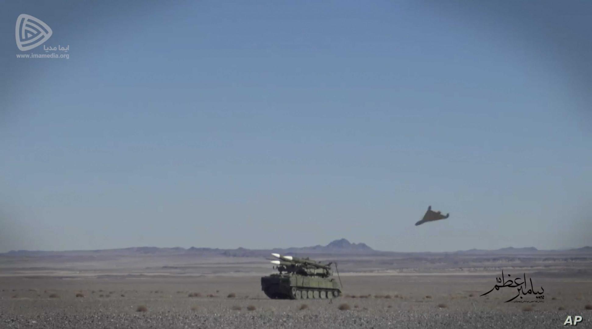 Iran's RGC kicks off drills near the Iraqi border