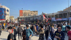 تظاهرات جنوبي العراق منددة بما يحصل في واسط والنجف