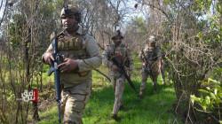 قوات الجيش تلاحق بؤر داعش في قرى بديالى وشرطة النفط تفجر عبوة ناسفة في صلاح الدين