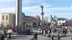 Al-Sulaymaniyah employees' on strike protesting tardy stipends