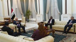 صالح لشخصيات عربية: أمن العراق عامل أساسي لاستقرار المنطقة