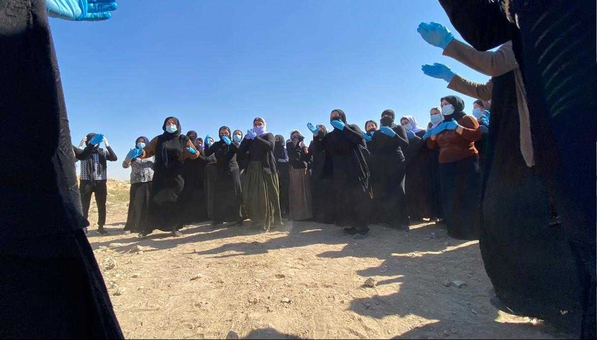The Yazidi Rescue Office: 360 thousands displaced, 82 mass Graves, 6417 kidnapped