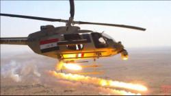"""طيران الجيش العراقي يُجهز على 3 """"إرهابيين"""" في صلاح الدين"""