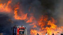 الدفاع المدني يعلن استنفاراً كاملاً في عموم المحافظات بعد حرائق وعاصفة كربلاء