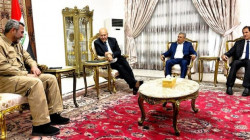 Iraqi President, PMF head stress the need to secure borders with Syria