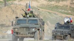 A Russian Patrol in northeastern Syria