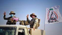 الحشد يعلن حصيلة الضحايا والجرحى من مقاتليه في هجوم داعش قرب خانقين