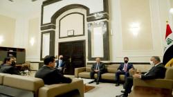 الكاظمي يبحث ملفين مع وفد حكومة إقليم كوردستان